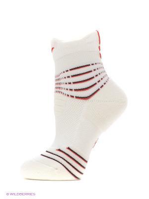 Носки U NK ELT VERSA MID Nike. Цвет: белый, красный