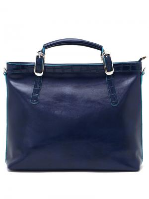Сумка Solo true bags. Цвет: темно-синий, голубой
