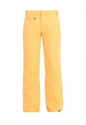 Брюки горнолыжные Roxy. Цвет: желтый