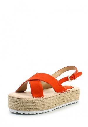 Босоножки Coco Perla. Цвет: оранжевый