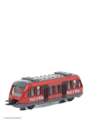 Игрушка Региональный вагон SIKU. Цвет: красный, серый