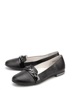 Туфли KENKA. Цвет: черный