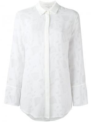 Рубашка Larsey Iro. Цвет: белый