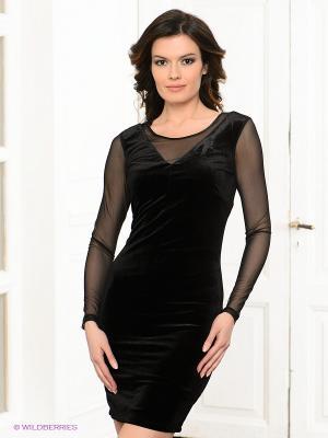 Платье Viaggio. Цвет: черный