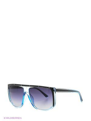 Солнцезащитные очки Vittorio Richi. Цвет: черный, голубой