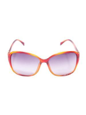 Солнцезащитные очки Mitya Veselkov. Цвет: желтый, красный