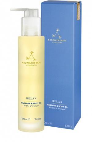 Расслабляющее масло для тела Relax Aromatherapy Associates. Цвет: бесцветный