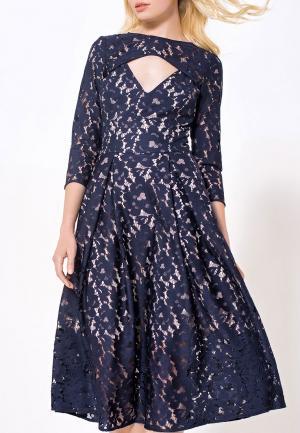 Платье JN. Цвет: синий