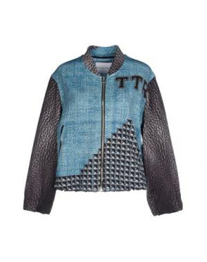 Куртка THE TEXTILE REBELS. Цвет: лазурный