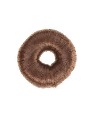 Бублик для волос Infiniti. Цвет: коричневый