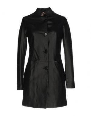Легкое пальто YES LONDON. Цвет: черный