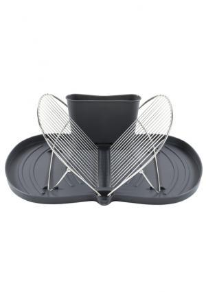 Подставка для посуды Heine Home. Цвет: темно-серый