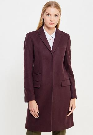Пальто French Connection. Цвет: фиолетовый