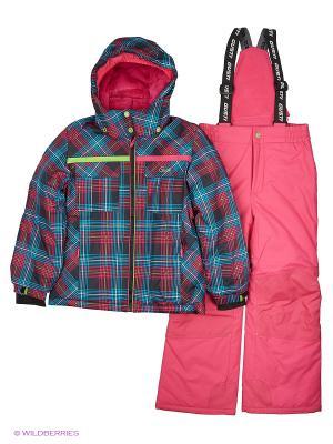 Костюм одежды Gusti. Цвет: темно-бордовый