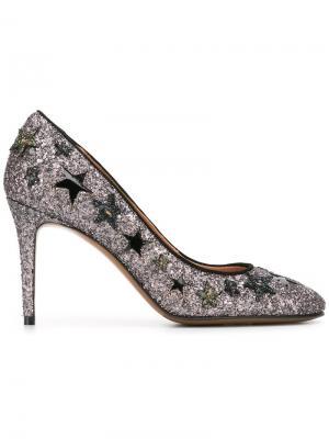 Декорированные туфли-лодочки со звездами LAutre Chose L'Autre. Цвет: розовый и фиолетовый