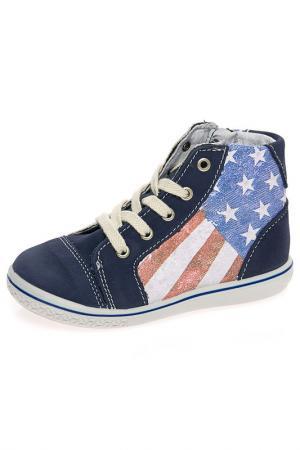 Ботинки Ricosta. Цвет: синий