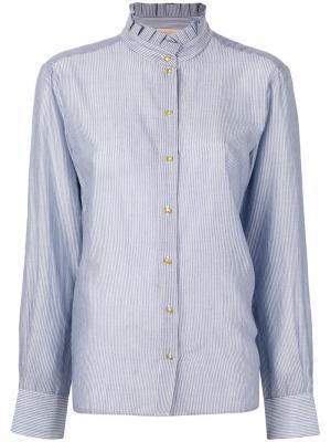 Классическая рубашка Vanessa Bruno. Цвет: синий