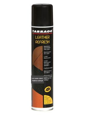Аэрозоль-краситель для гл. кожи Leather Refresh (015 темно-серый) Tarrago. Цвет: темно-серый