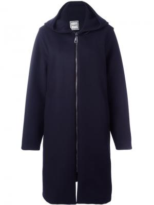 Пальто на молнии Wooyoungmi. Цвет: синий