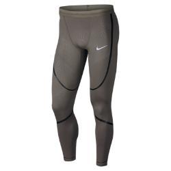 Мужские беговые тайтсы  Tech Nike. Цвет: коричневый