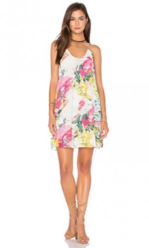 Платье-футляр Bishop + Young. Цвет: розовый