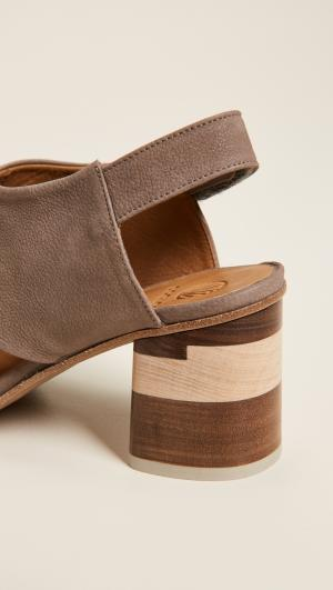 Big Easy Block Heel Sandals Coclico Shoes
