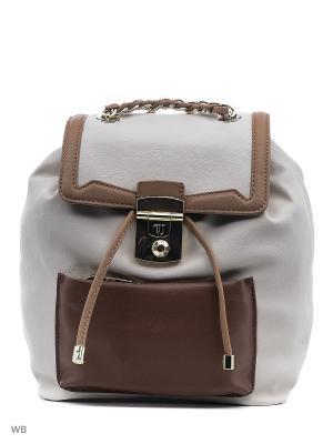 Рюкзак Trussardi. Цвет: коричневый, бежевый