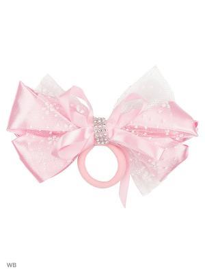 Резинка для волос Baby Steen. Цвет: розовый