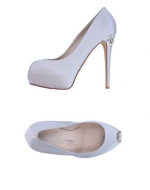 Туфли ENIO SILLA for LE. Цвет: светло-серый