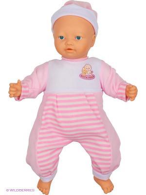 Функциональная кукла-пупс Муси-пуси. Цвет: розовый, белый, бежевый