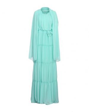 Длинное платье COMPAGNIA ITALIANA. Цвет: светло-зеленый