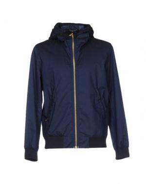 Куртка RICHARD JAMES. Цвет: темно-синий