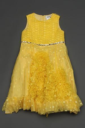 Платье Lesy. Цвет: желтый
