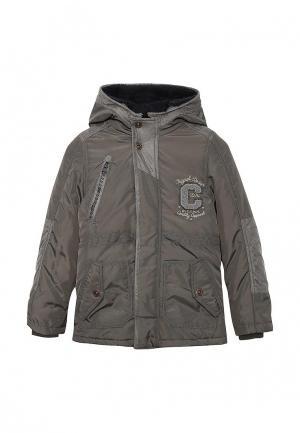Куртка утепленная Catimini. Цвет: серый