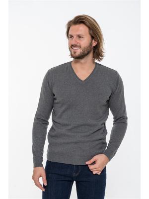 Пуловер Westrenger. Цвет: серый