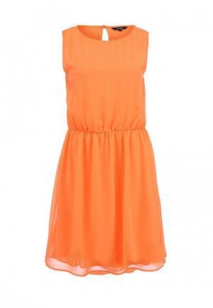 Платье Froggy. Цвет: оранжевый