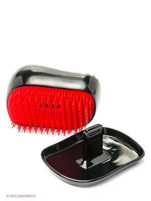 Расческа с крышкой Компакт Стайлер губы Tangle Teezer. Цвет: черный