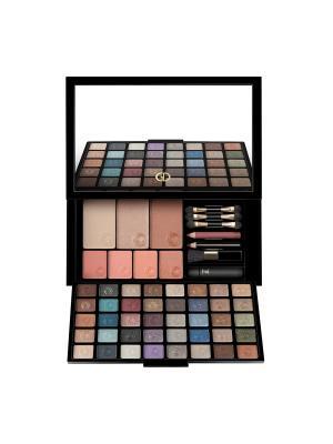 Набор для макияжа COLORSTAGE GA-DE. Цвет: бежевый, голубой, зеленый, коричневый, розовый, синий