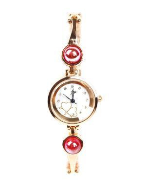 Часы наручные 1Azaliya. Цвет: красный, золотистый