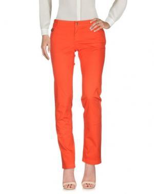 Повседневные брюки GUCCI. Цвет: красный