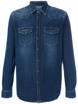 Джинсовая куртка Department 5. Цвет: синий
