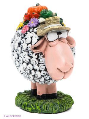 Фигурка овца Своя ноша не тянет The Comical World of Stratford. Цвет: серый, оранжевый, розовый, зеленый