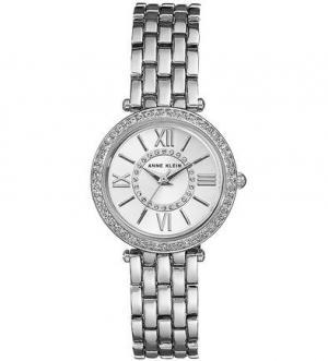 Кварцевые часы с металлическим браслетом Anne Klein