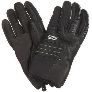 Перчатки сноубордические  Villain Glove Real Black Pow. Цвет: черный