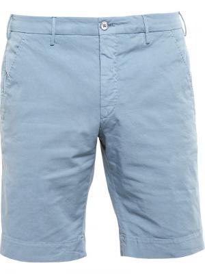 Классические шорты-чинос Browns. Цвет: синий