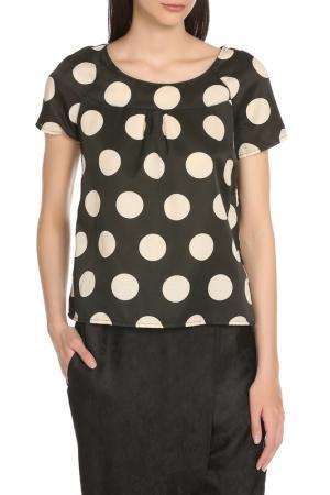 Блузка Manila Grace. Цвет: 96 черный