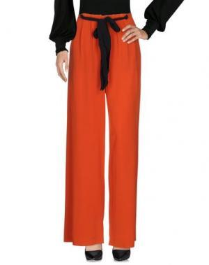 Повседневные брюки CEDRIC CHARLIER. Цвет: оранжевый