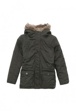Куртка утепленная Z Generation. Цвет: хаки