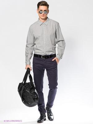 Рубашка TOM FARR. Цвет: черный, белый