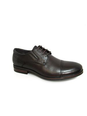 Туфли Berten.. Цвет: коричневый